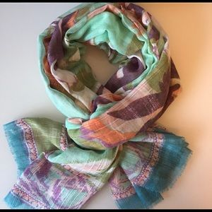 Accessories - NWOT | Floral Multi-Color Scarf / Shawl